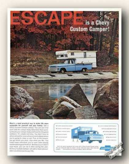 Chevrolet Chevy Custom Camper Escape Promo (1966)
