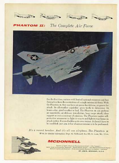 McDonnell Phantom II Aircraft Photo (1966)