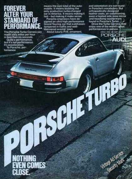Porsche Turbo Carrera Photo Car (1977)