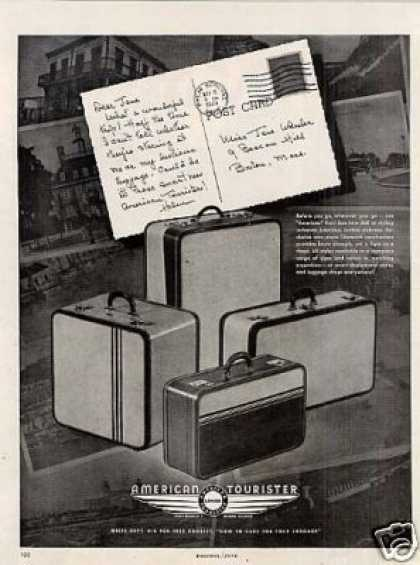 American Tourister Luggage (1948)