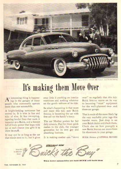 Buick Car – Buick Eight – Sold (1949)