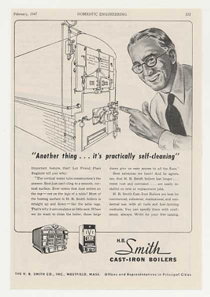 H B Smith Cast Iron Boilers (1947)