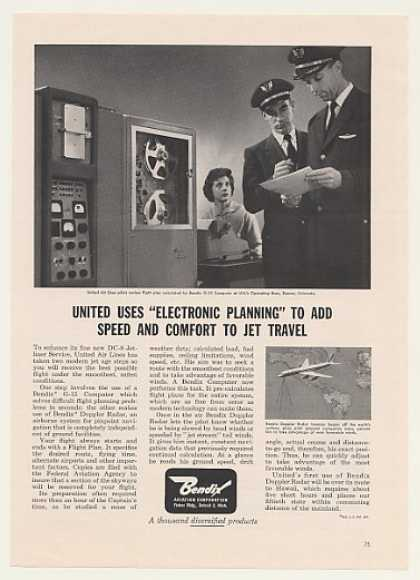 United Airlines Pilots Bendix G-15 Computer (1960)