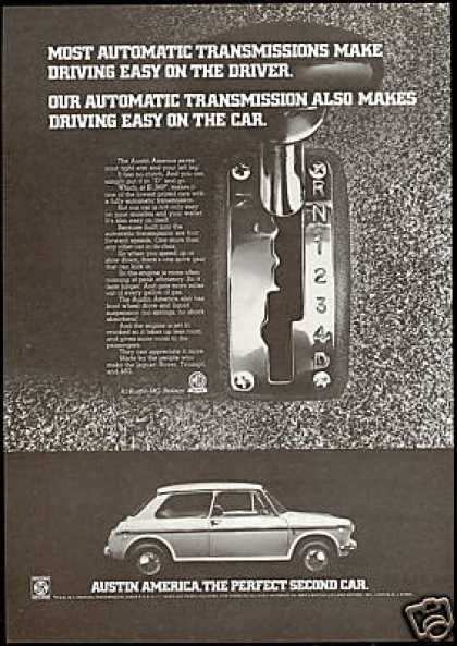 Austin America Photo Automatic Transmission Car (1970)