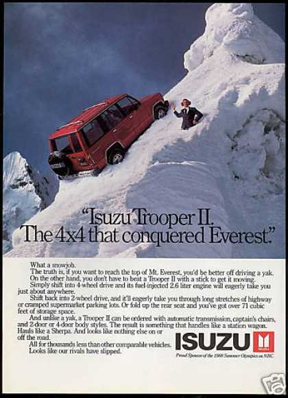 Isuzu Trooper II 4by4 Everest Photo (1988)
