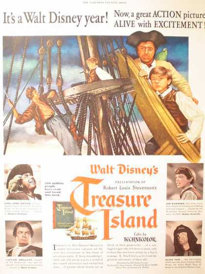 Movie Walt Disney's Treasure Island (1950)