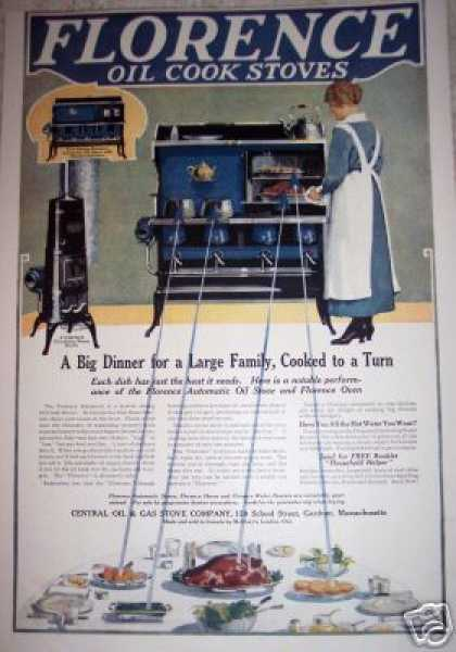 Florence Oil Cook Stove (1917)