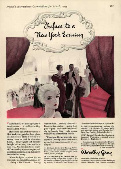 Dorothy Gray – Preface to a New York Evening (1935)