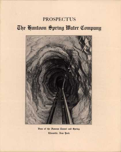 Huntoon Spring Water Co.'s Huntoon Spring Water – Prospectus (1907)