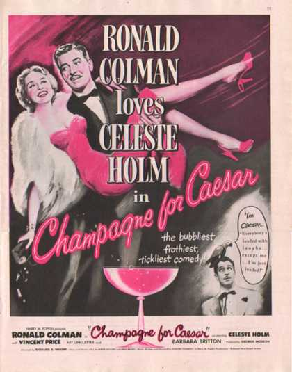 Champagne for Caesar Movie (1949)