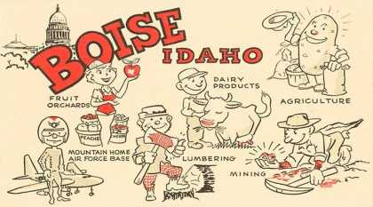 Boise, Idaho, Cartoons