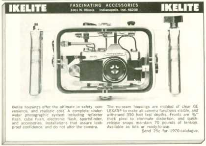 Ikelite Camera Flash Housings (1970)