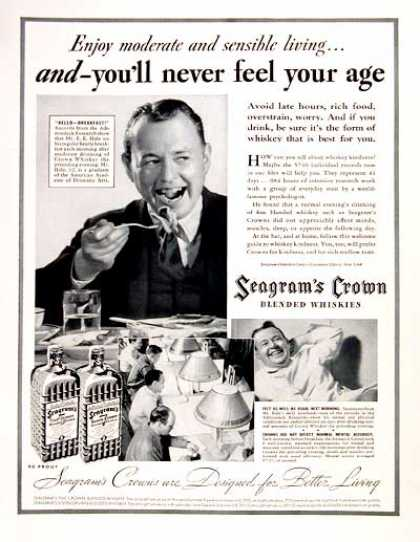 Seagram's Crown Whiskey (1937)