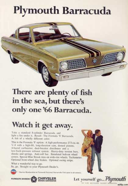 Chrysler's Plymouth Barracuda (1966)
