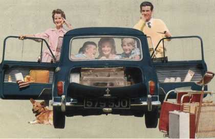 Morris Mini-Minor and Family