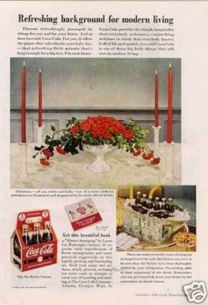 Coca-cola Ad 'refreshing Background... (1940)