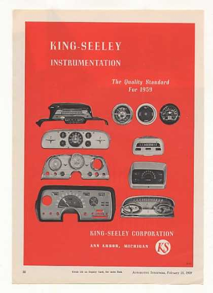 King-Seeley Automobile Instrumentation (1959)