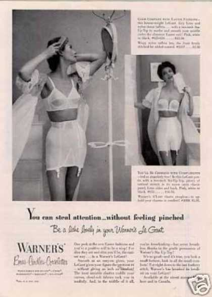 Warner's Girdles (1953)