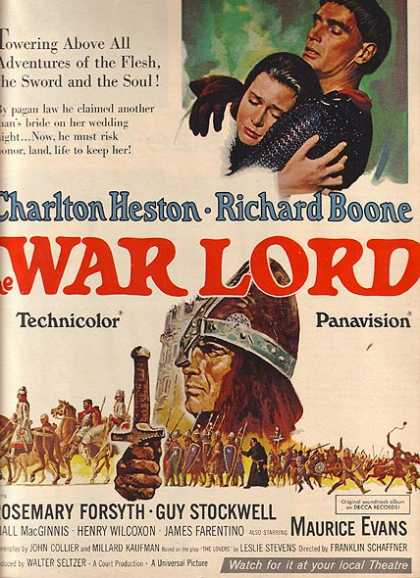 The War Lord (Charlton Heston and Richard Boone) (1965)