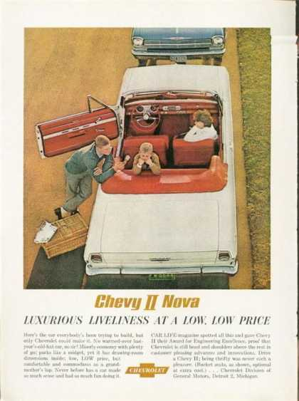Chevy Nova Ii Convertible Hot Car (1962)