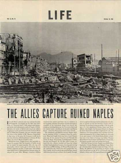 """The Allies Capture Ruined Naples"" Article (1943)"