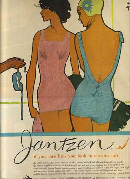 Jantzen's Swimwear for women (1959)
