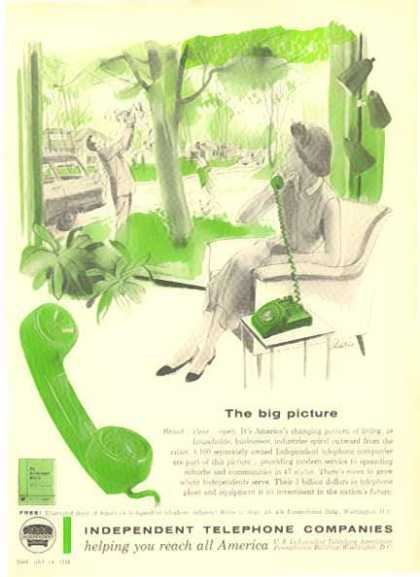 Independent Telephone Companies – The Big Picture (1958)