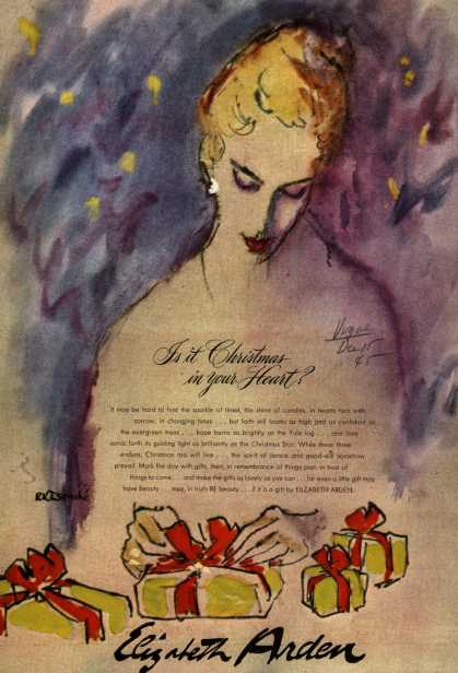 Elizabeth Arden – Is it Christmas in your Heart? (1945)