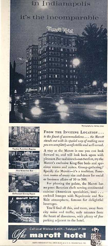 Marott's incomparable hotel (1960)