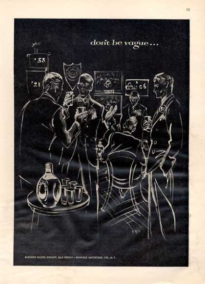 Haig & Haig Whisky Art (1952)