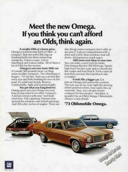 "Oldsmobile ""Meet the New Omega"" Car (1973)"