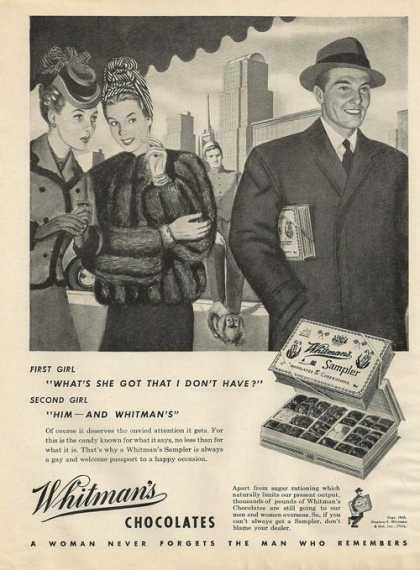 Whitmans Chocolates (1945)