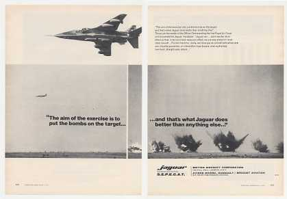 Jaguar Aircraft Bombing Exercise Photo (1976)