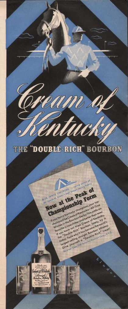 Cream of Kentucky Rich Bourbon (1941)