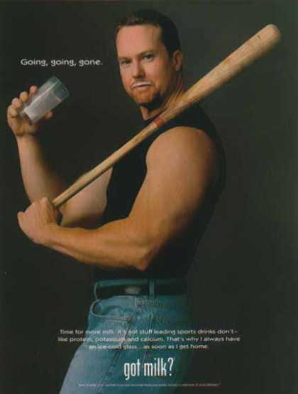 Mark McGwire – Got Milk? (1998)