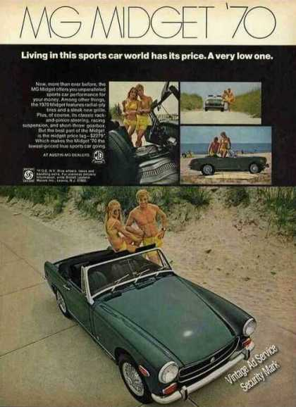 Mg Midget Photos &quot;Sports Car World&quot; (1970)