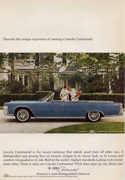Ford Lincoln Continental Tennis Theme (1965)