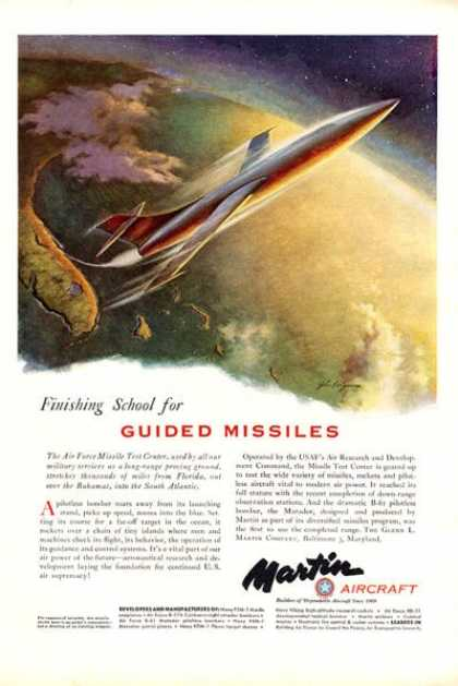 Martin Aircraft Guided Missiles Test (1951)