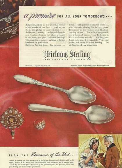 Heirloom Sterling Silverware (1945)