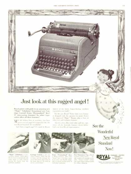 Royal Standard Typewriter (1952)