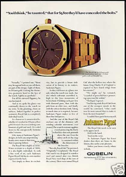Audemars Piguet Royal Oak Watch Photo (1977)