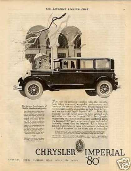 Chrysler Imperial Car (1927)