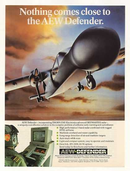 Pilatus AEW Defender Early Warning Aircraft (1986)