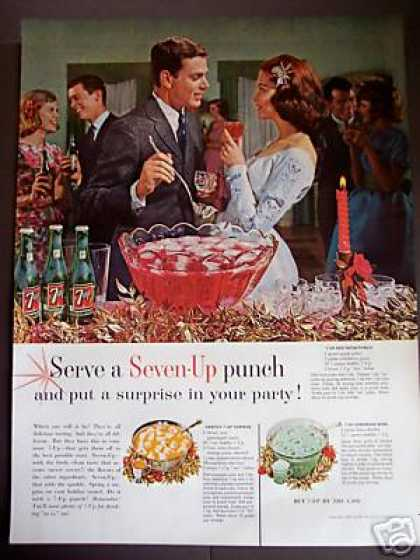 7up Seven-up Punch Party 3 Recipe Photo (1962)