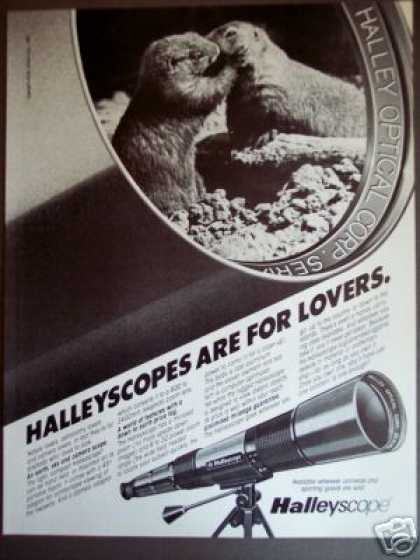 Halleyscope Telescope Camera Scope for Lovers (1985)