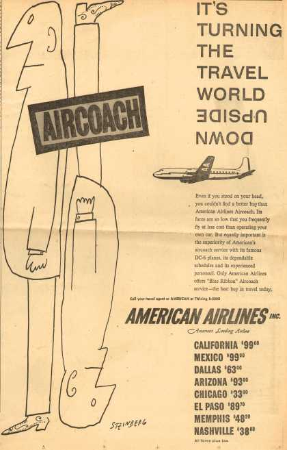 American Airlines – It's Turning the World Upside Down. (1954)