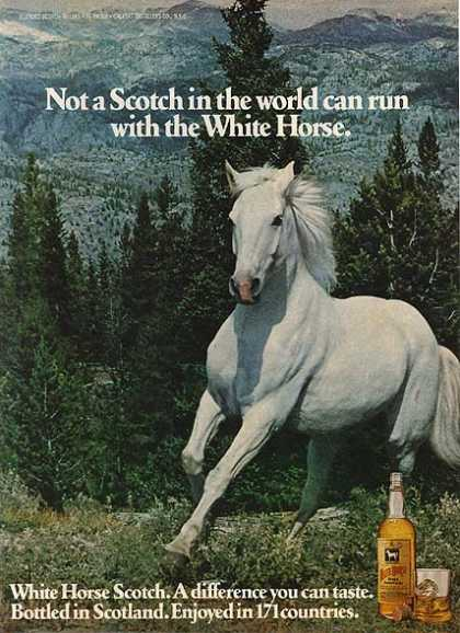 White Horse's Blended Scotch Whiskey (1978)