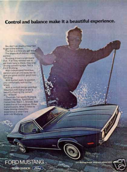 Ford Mustang Car (1972)