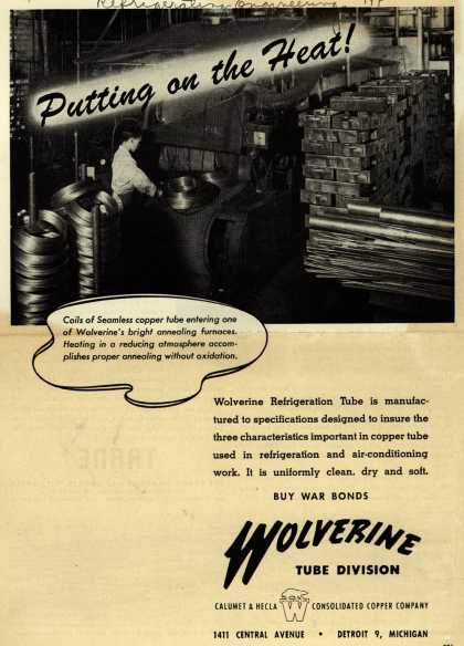 Calumet & Hecla Consolidated Copper Company's Wolverine Refrigeration Tube – Putting on the Heat (1944)