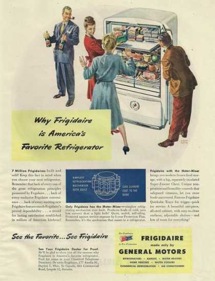 Frigidaire By General Motors Refrigerat (1945)